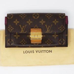 100% Auth Louis Vuitton Wallet Clutch